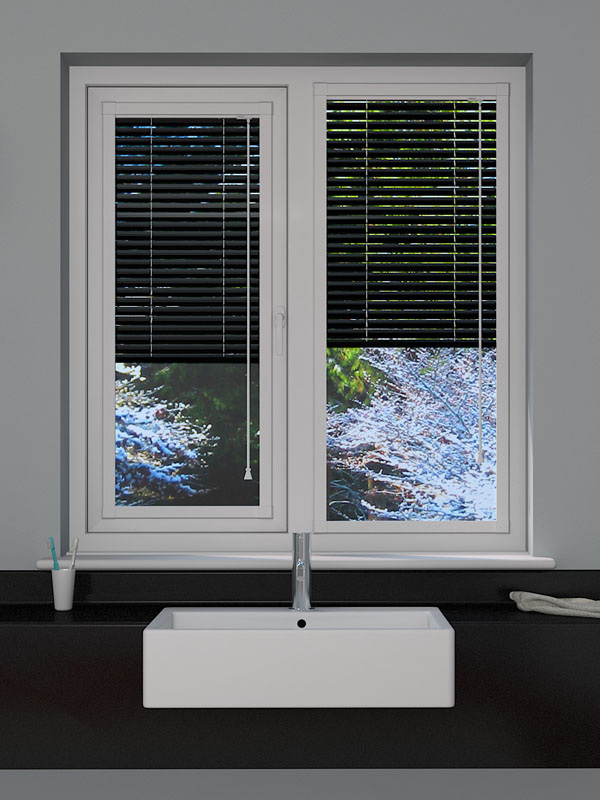 Pearl Black Perfect Fit Blind
