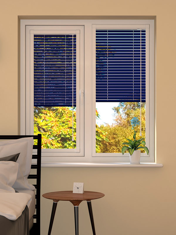Dark Blue Perfect Fit Blind