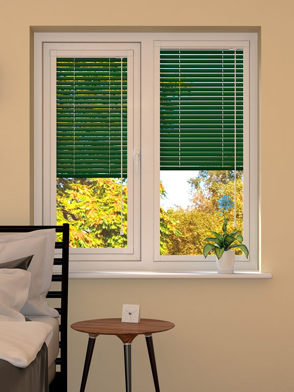 Hunter Green Perfect Fit Blind