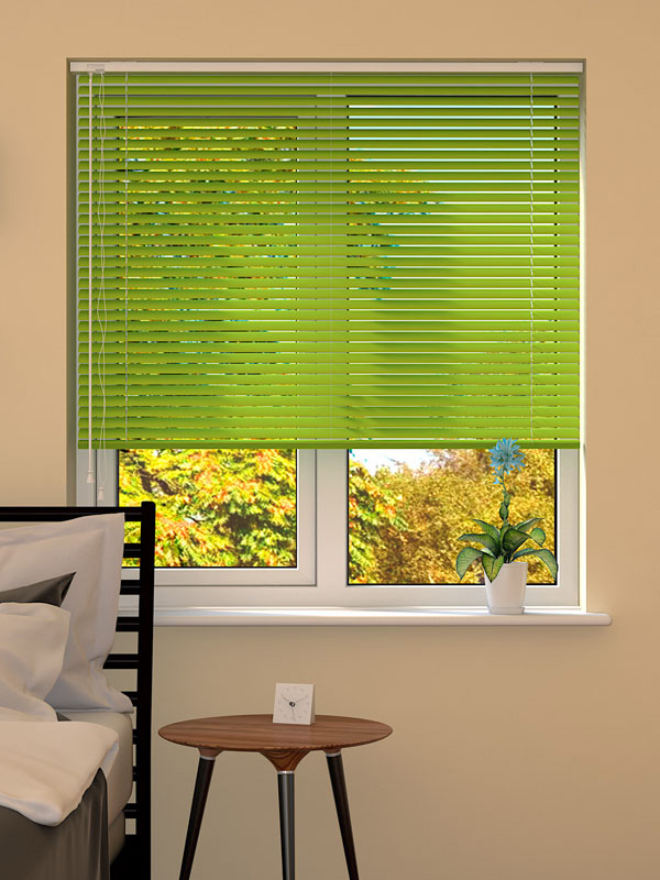 Apple Green Venetian Blind