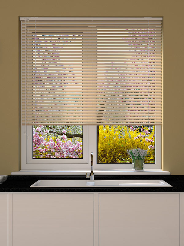Cream Sparkle Venetian Blind