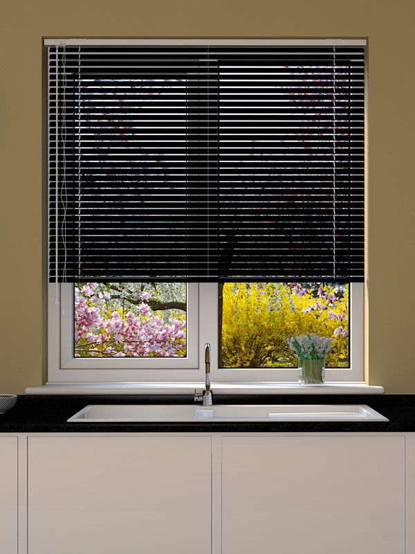 Black Venetian Blind Blinds Direct Online