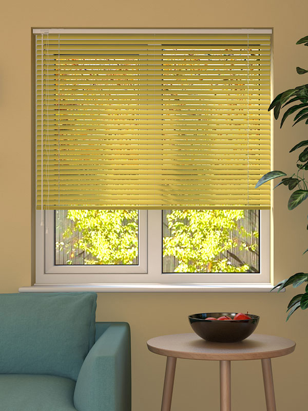 Lemon Venetian Blind