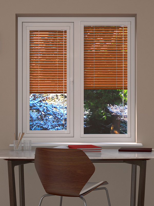 Aliwood Light Oak Perfect Fit Blind