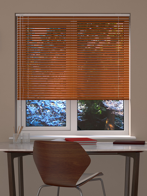 Aliwood Light Oak Venetian Blind