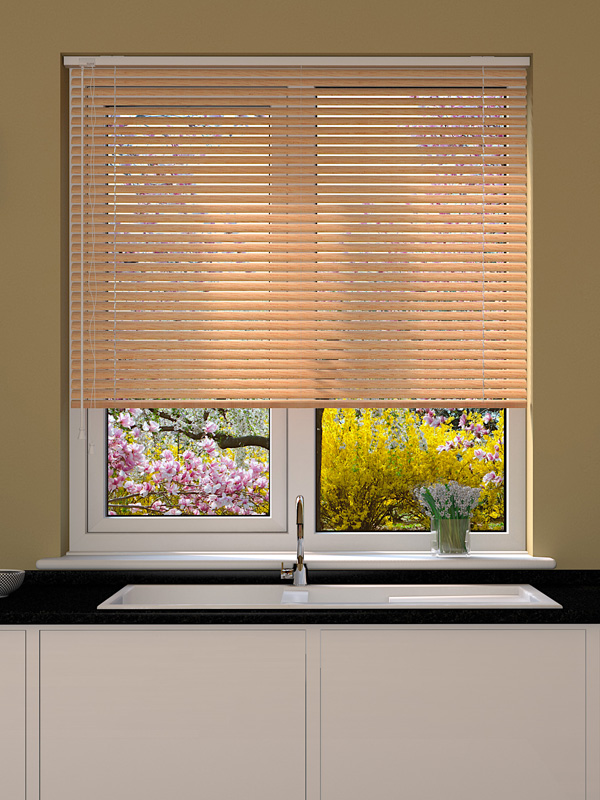 Aliwood Limed Oak Venetian Blind