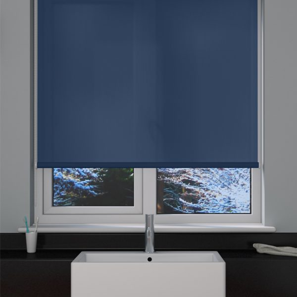 Atlantic Blue Roller Blind