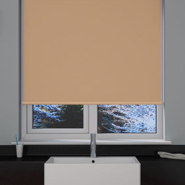 Beige Blackout Roller Blind