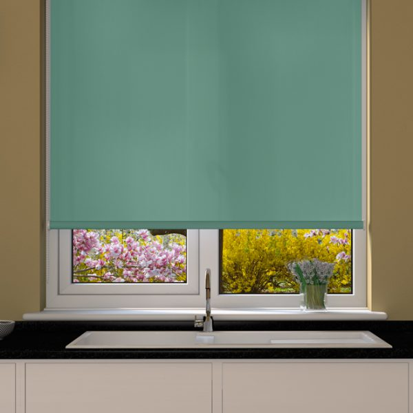 Blue Grass Roller Blind