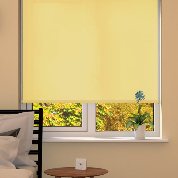 Lemon Roller Blind