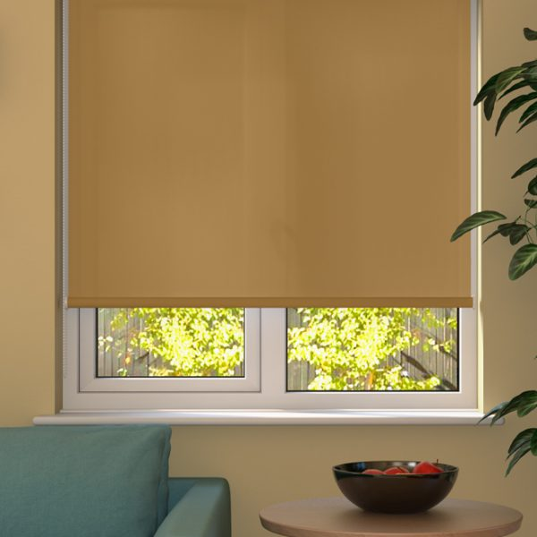 Muted Gold Roller Blind