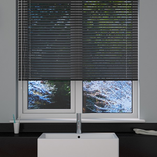Dark Grey Venetian Blind Blinds Direct Online