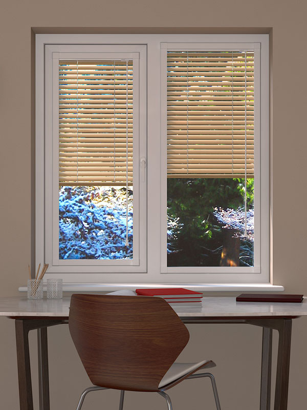 Metallic Gold Perfect Fit Venetian Blind Blinds Direct