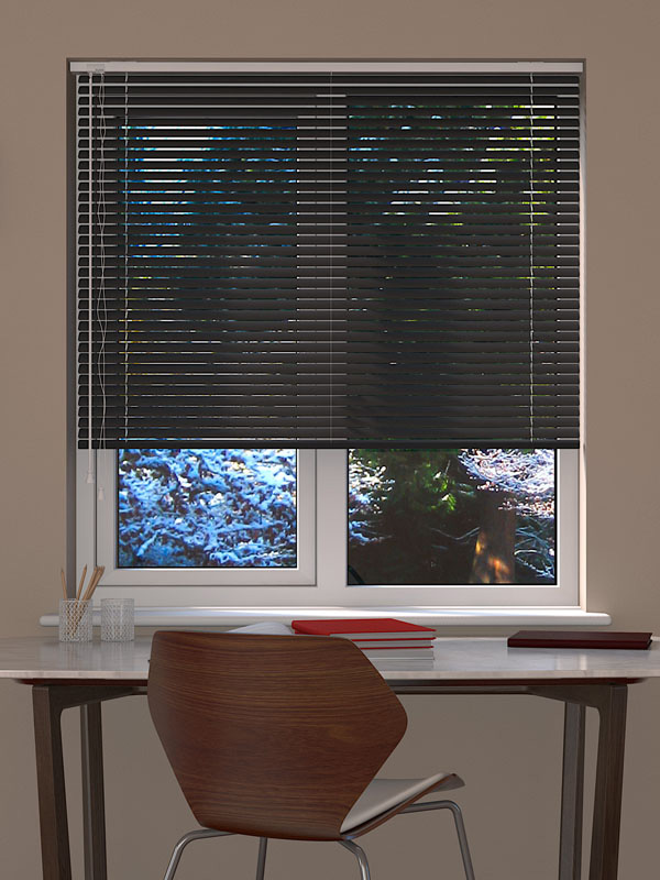 Metallic Dark Grey Venetian Blind Blinds Direct Online