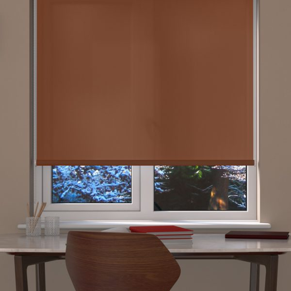 Copper Roller Blind