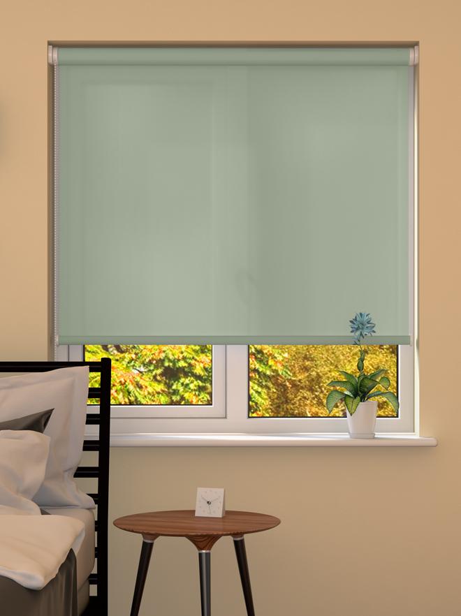 spring green roller blinds made to measure from. Black Bedroom Furniture Sets. Home Design Ideas