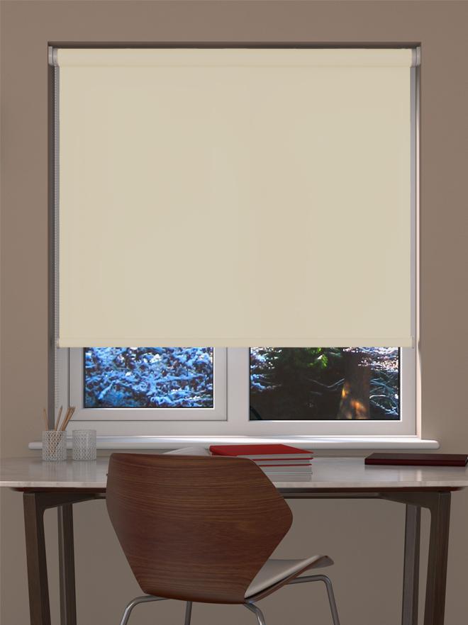 Vanilla Roller Blind Blinds Direct Online